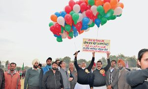 Cabinet Minister Singla inaugurates state level sports at War Heroes Stadium