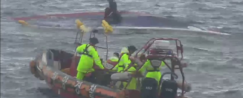 Three Dead, Fishing Boat Capsizes In S Korea