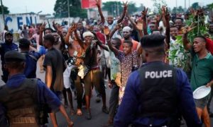 Two Killed, Violence After Congo Vote Results, Announced