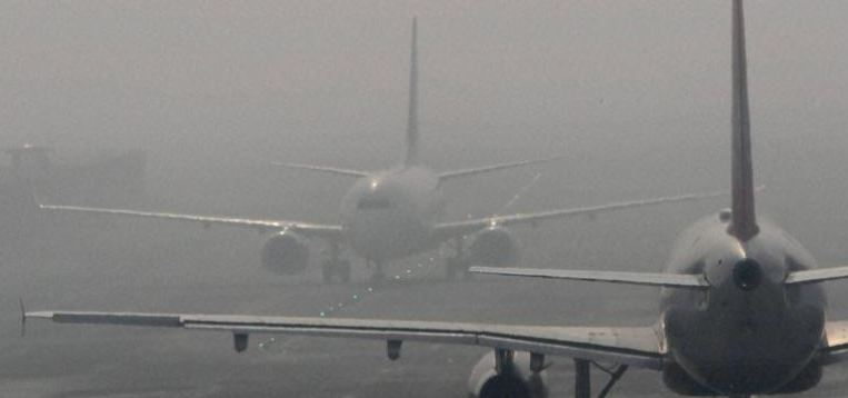 Dense Fog, Stop Flight Of Aircraft