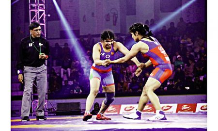 Sakshi made the first win for Delhi Sultans
