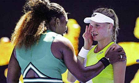 aina wins her defeat after losing to Serena