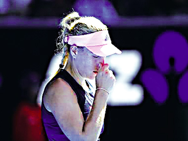 The curler became the victim of a furore, Barty did Sharapova