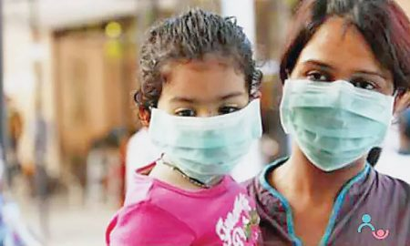 1 year old child with swine flu deaths