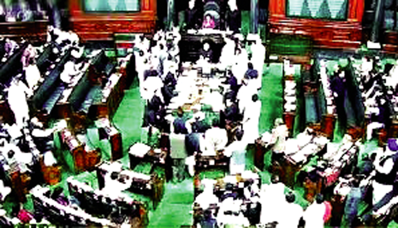 Fighting, Lok Sabha