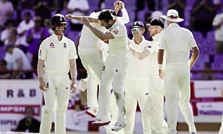 Wood, Ali Conceded, Wickets