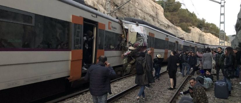 Two Trains Collide In Spain