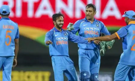 India set a target of 253 runs