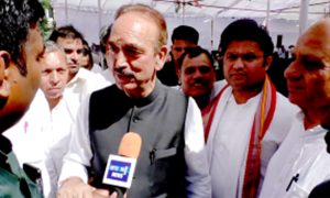 Congress, Sweep, Haryana, Ghulam Nabi Azad