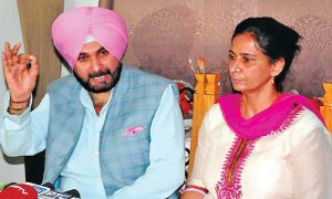 NavjotSinghSidhu, Wife, Ticket