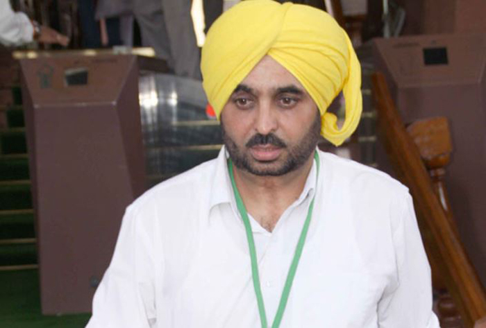 Bhagwant Mann, Speaking, Ticket, Parminder Dhindsa