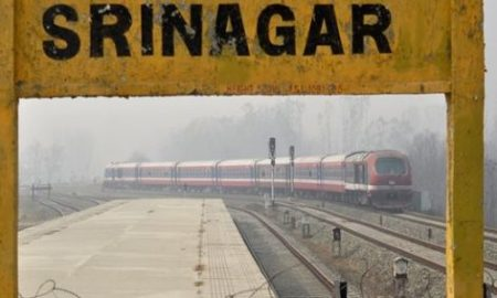Rail Service Suspended In Kashmir Valley Due To Security Reasons