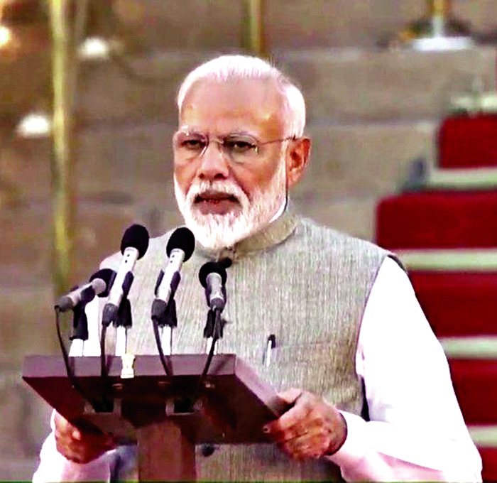 Modi, Ministers, Administered, Oath