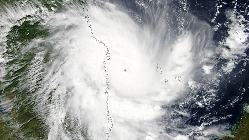 Kenneth, Cyclone, mozambique