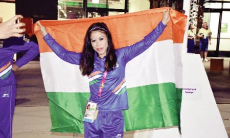Mary Kom, Pangal, Thapa, India, Medals, Firm