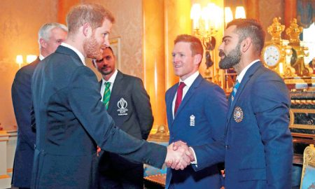 Prince Harry, World Cup, Captain