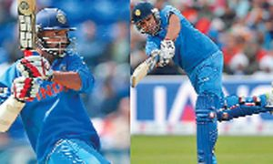 World Cup, Shikhar, Rohit, Opening, Shown
