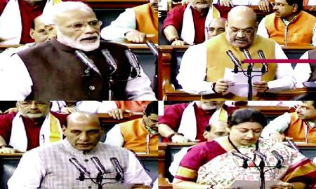 Budget Session, Modi, Rajnath, Elected MP, Sworn