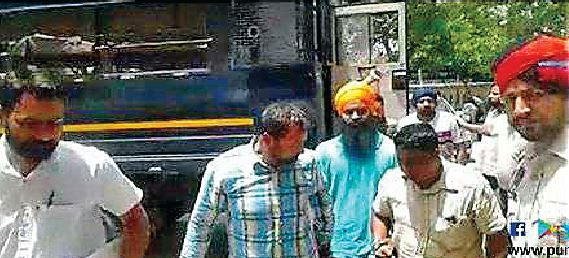 Court,  Accused,  Three Times,  Police Remand , Mohinderpal Bittu Murder Case