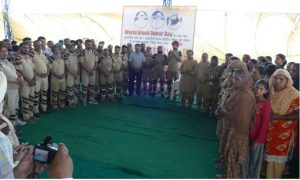 World Blood Donor Day, Organized, Dera sacha sauda