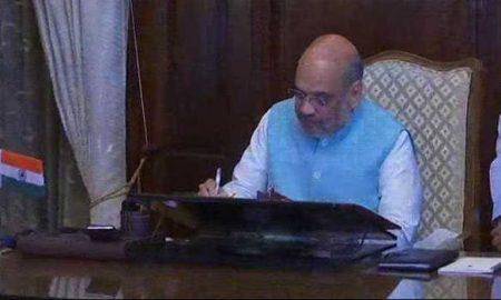Amit Shah, Rajnath, Charge