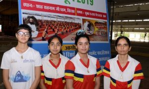 Hundreds, National and International, Players, Yoga camp , Dera Sacha Sauda