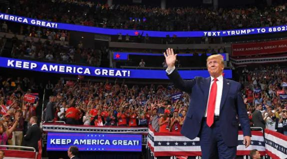 Trump, Launches,Campaign, 2020 Election