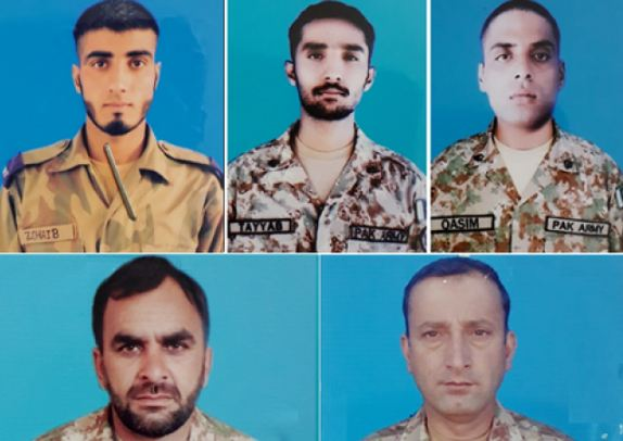 Five, Soldiers, Killed, Blast, Pakistan