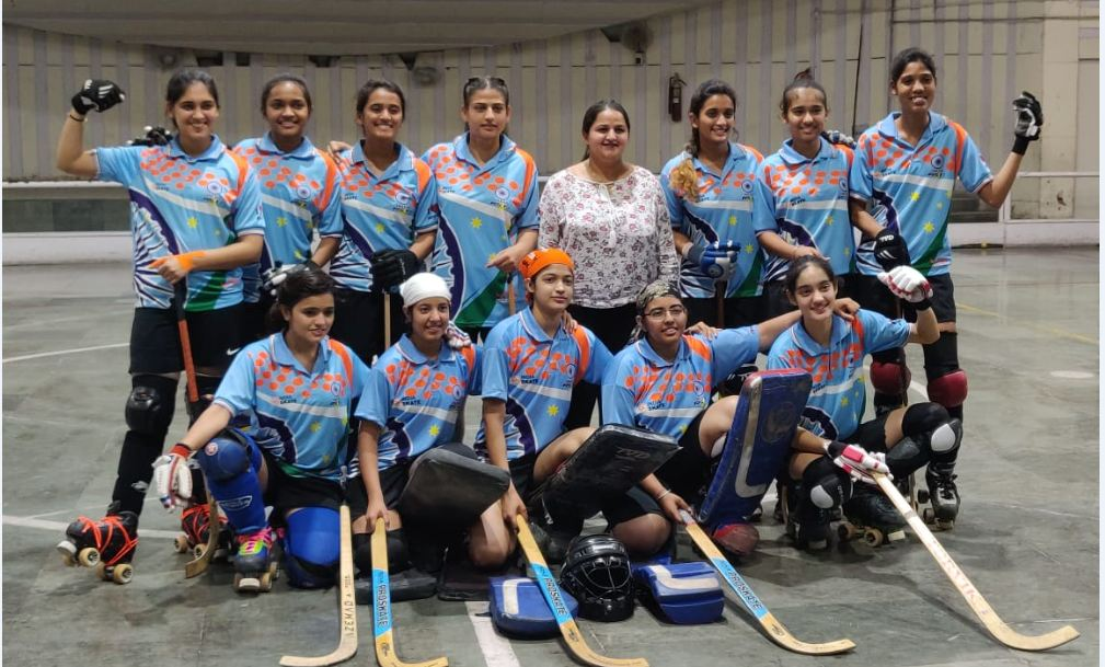 Sports, Indian Team, World Roller Games, Barcelona