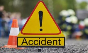 Accident, Near Bilaspur, Two Motorcycles Collide