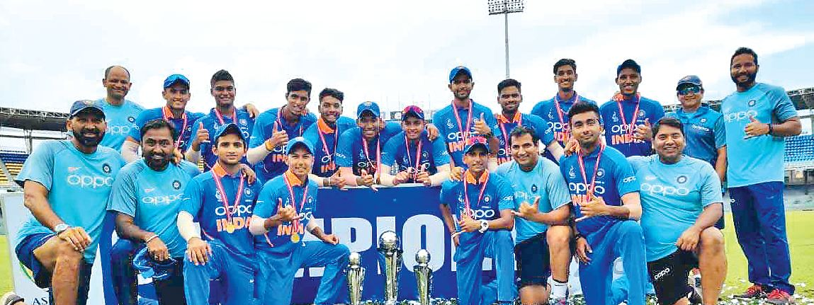 Asia, India, Under-19, Champion ,Bangladesh
