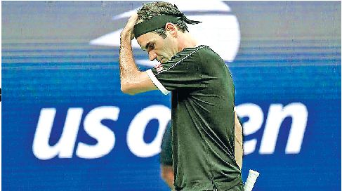 Federer, Defeated, Dimitrov,Semifinals