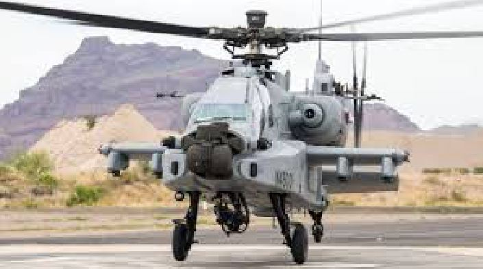 Eight Apache Helicopters, Joined, Indian Airways