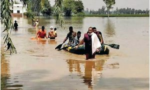 Flood losses, Central, Punjab, Today