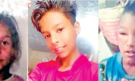 Three children, Missing,   Police, Search, Same day