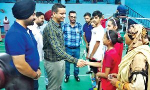 Inauguration, ,District-level Badminton, Championship, Sangrur