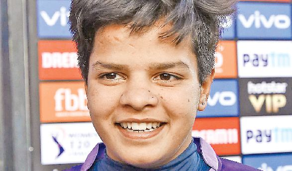 Shefali Verma's . Selection, Indian T20