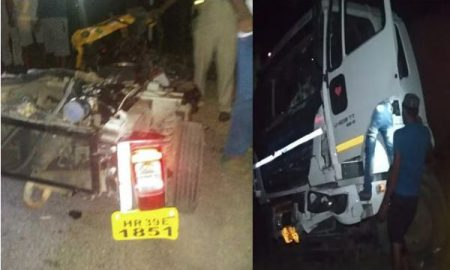 10 Death, Jind, Road Accident