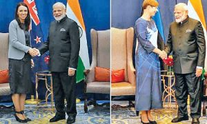 India, New Zealand , Against, Terrorism