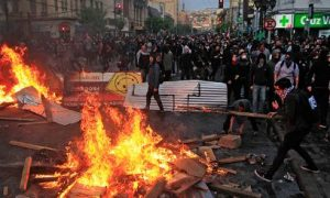 Chile: 10 People, Died, Violence
