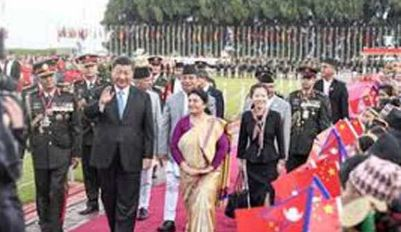 China, Nepal, Agrees, Strengthen. Ties