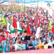 Young, People, Flock in favor of Manjit Bhaner, 23rd day