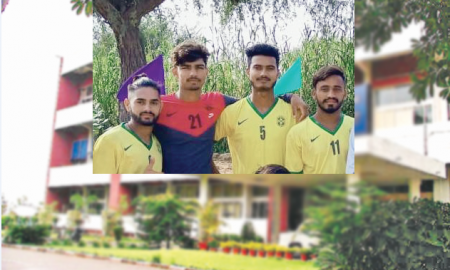 Selection , 4 players , National, Under-19 football