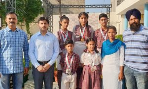 State, Kickboxing, Won, DAV school,  3 gold , 2 silver , Medals