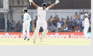 Team India, Scored 493 for 6,First Innings, Second day First Test.