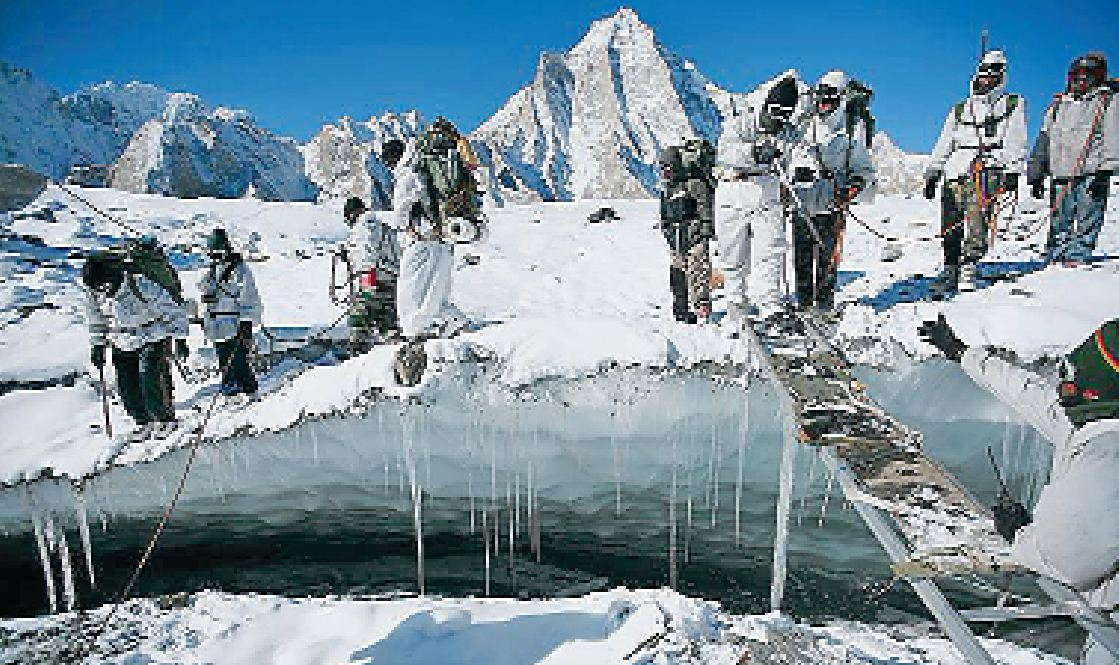 Siachen,Enemy, Fought,Nature