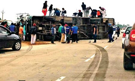 Road Accidents , Seven Lives, Injuring, Four dozen