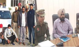 Heroin, Weapons, Car, Rs 5.32 lakh, Three Arrested