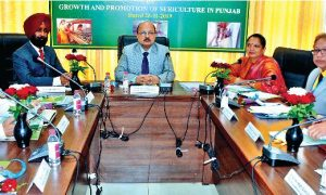 Punjab,State-level, Workshop ,Launched , Silkworms