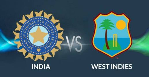 India-West Indies, Match, Today